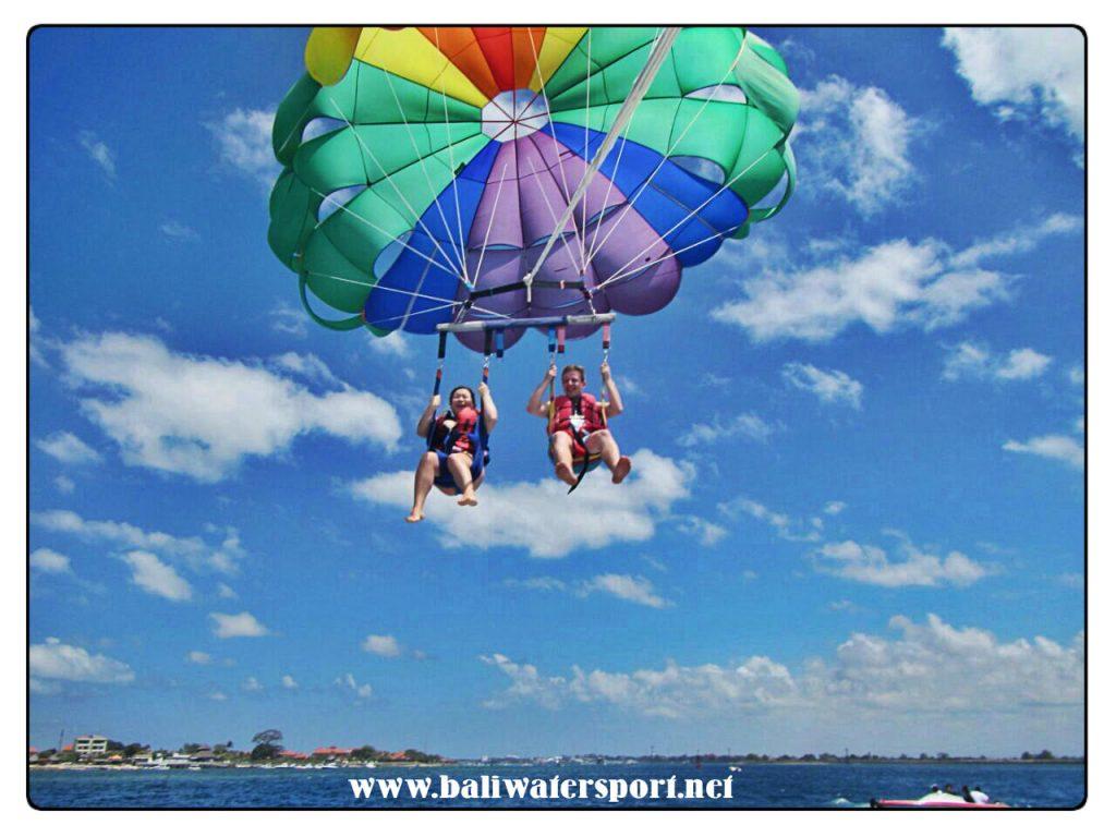 parasailing adventure
