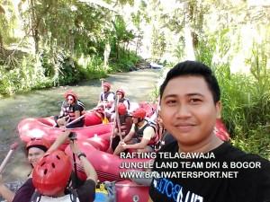 Rafting Telaga Waja , Bali
