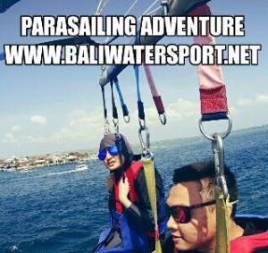 parasailing di bali