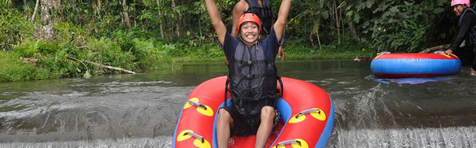 Bali River Tubing