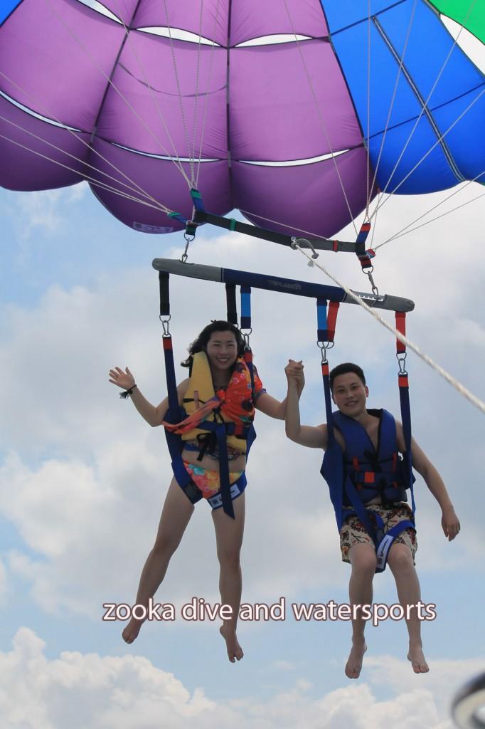 Parasailing Adventure : parasailing untuk berdua