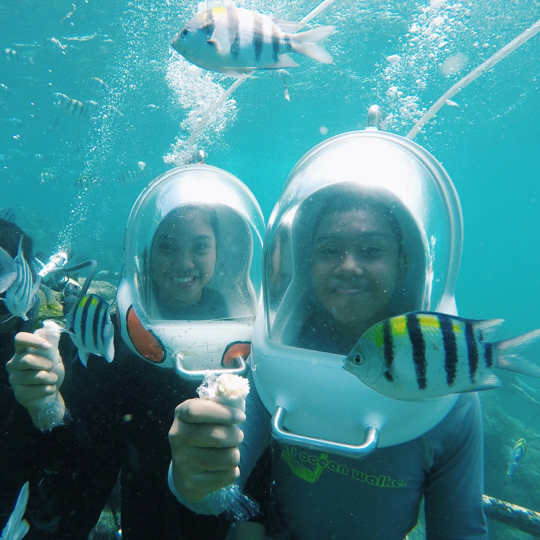 Seawalker Tanjung Benoa Bali - Jalan jalan di bawah Laut di Bali