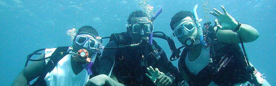 Diving di Tanjung Benoa / Nusa Dua
